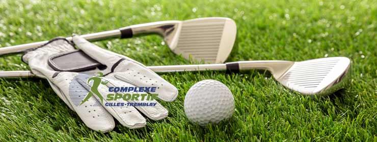 Cours de golf intérieur à Repentigny