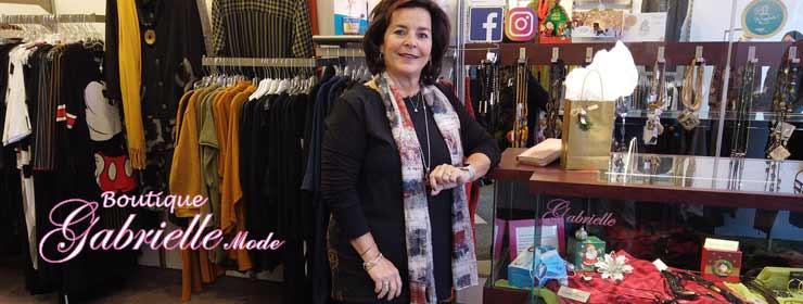 Boutique de vêtements pour femme Gabrielle Mode dans Lanaudière
