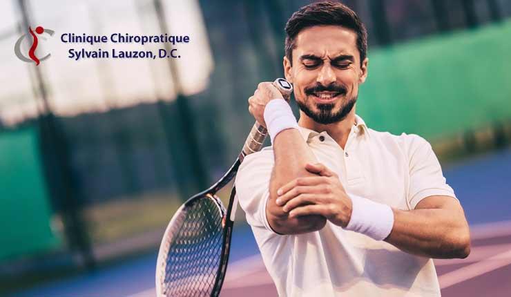 blessure sportive et chiro - tennis elbow