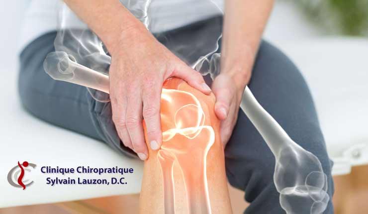 douleurs articulaires et chiropraticien à Laval