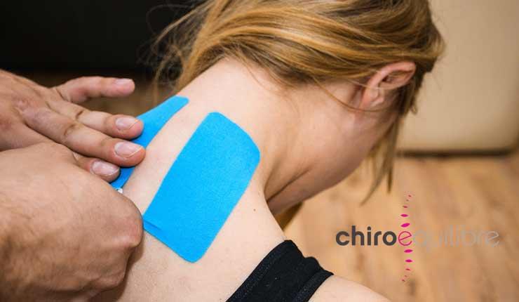 taping neuro-proprioceptif