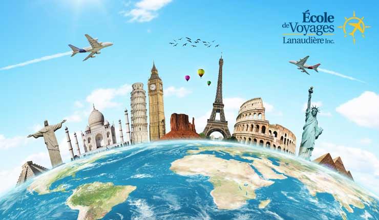 Formation en ligne d'agent de voyage