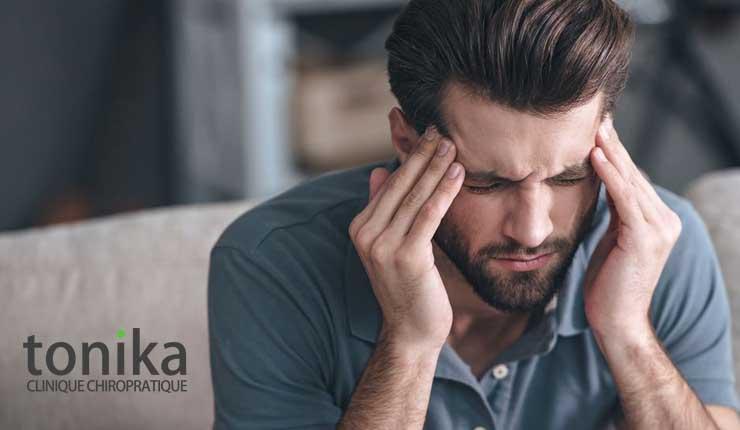 Migraine et mal de tête et chiropraticien